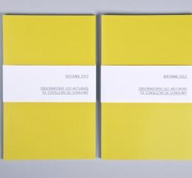 Diseño editorial del Observatorio de Consultas UCE 2012