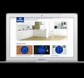 Diseño Web para tienda de Cocinas Heres