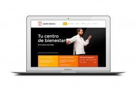 Diseño Web Jardín Eterno - Centro de terapias orientales