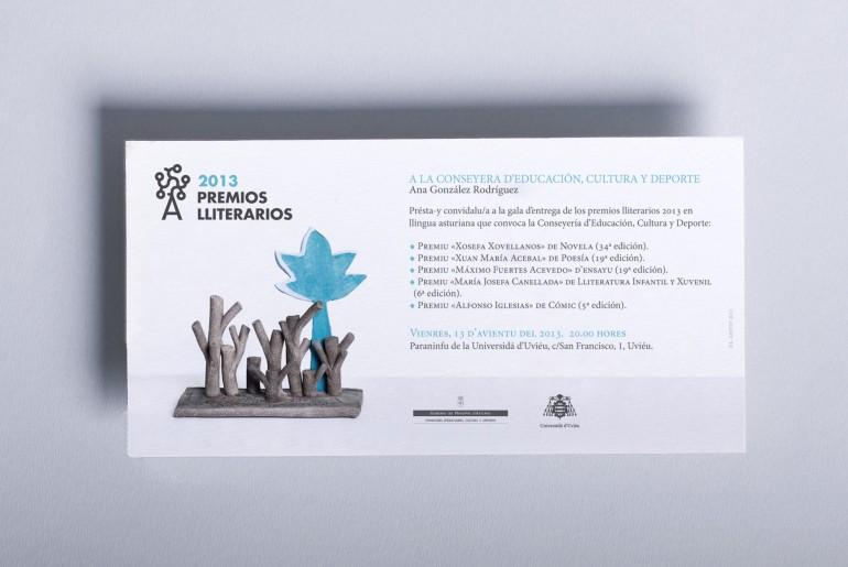 Convocatoria Premios Lliterarios 2013