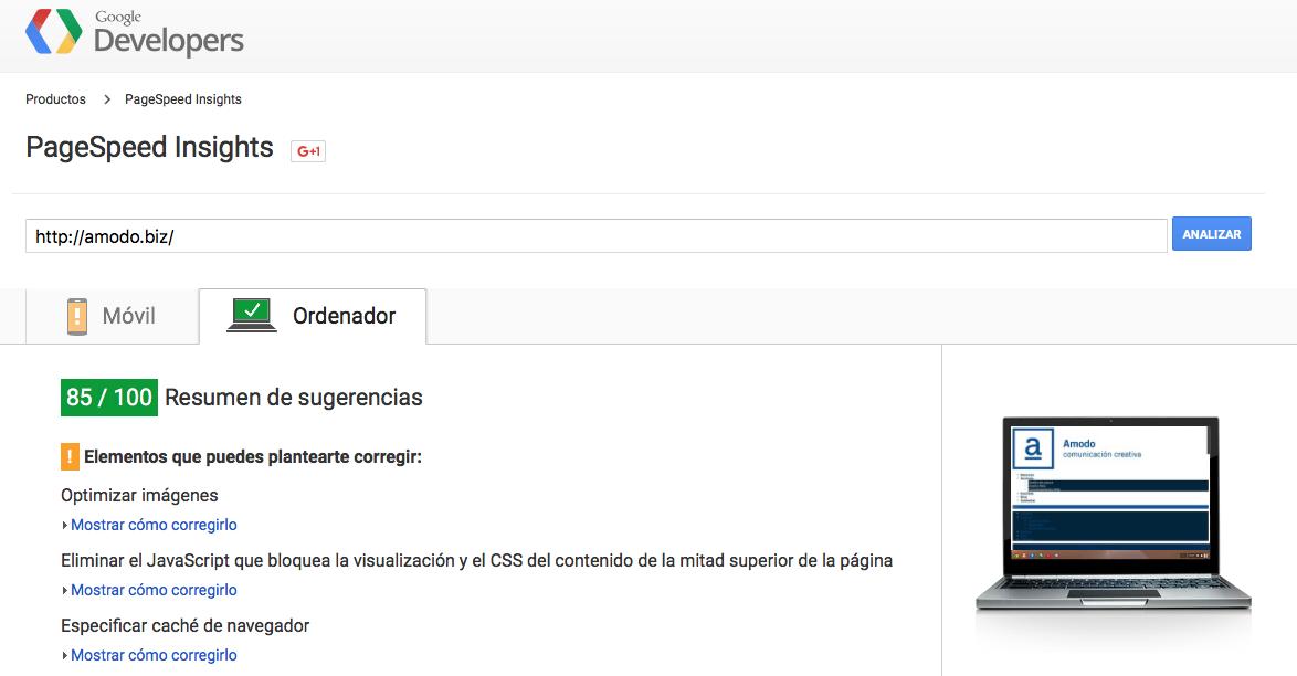 Google Pagespeed, un buen aliado de tu web