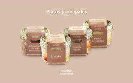 Cocina Maroma - Packaging plato predominado